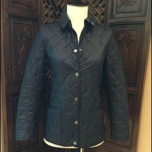 💗 BURBERRY QUILTED JACKET SIZE 12 YOUTH